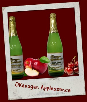 100 % BC Grown, apple cherry peach pear raspberry juice